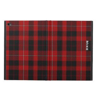 一族のCunninghamの格子縞のカスタムなiPadの空気2箱 Powis iPad Air 2 ケース