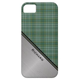 一族のCurrieのタータンチェック格子縞のiPhone 5Sの場合 iPhone SE/5/5s ケース
