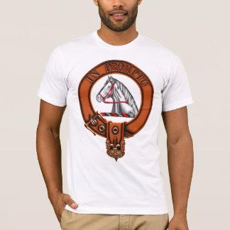 一族のDunbar家紋およびTarge Tシャツ