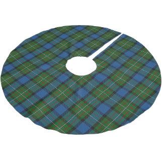 一族のFergussonスコットランドのファーガソンのタータンチェック ブラッシュドポリエステルツリースカート