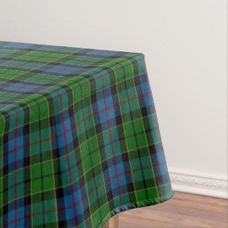 一族のForsythスコットランドのForsytheのタータンチェック テーブルクロス