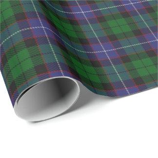 一族のGalbraithのスコットランド人のタータンチェック ラッピングペーパー