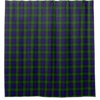 一族のGunnのスコットランドの伝統のタータンチェック シャワーカーテン