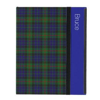 一族のGunnのタータンチェック格子縞のカスタムなiPadの場合 iPad ケース