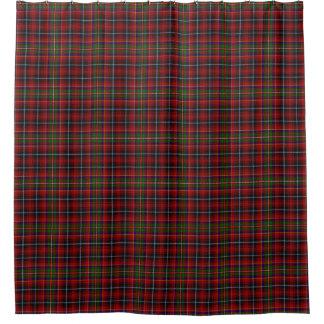 一族のInnesのスコットランドの伝統のタータンチェック シャワーカーテン