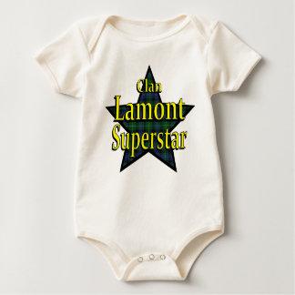 一族のLamontの幼児オーガニックなクリーパー ベビーボディスーツ
