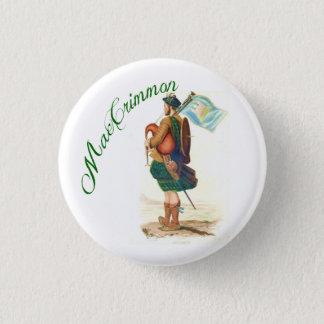一族のMacCrimmonのスコットランド人ボタン 缶バッジ
