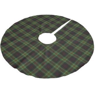 一族のMacDiarmidのスコットランドのタータンチェック ブラッシュドポリエステルツリースカート