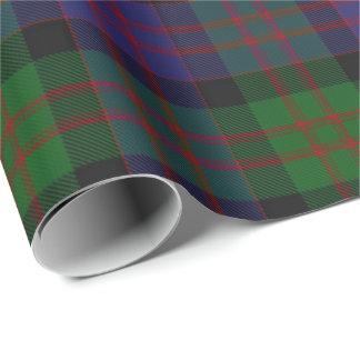 一族のMacDonaldドナルドのスコットランド人のタータンチェック 包装紙