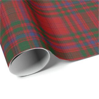 一族のMacDougallのスコットランド人のタータンチェック ラッピングペーパー