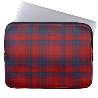 一族のMacDougallのタータンチェック格子縞のラップトップカバー ラップトップスリーブ