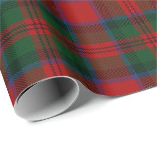 一族のMacDuffのスコットランド人のタータンチェック ラッピングペーパー