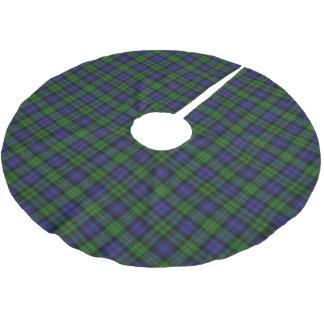 一族のMacEwenスコットランドのEwenのタータンチェック ブラッシュドポリエステルツリースカート