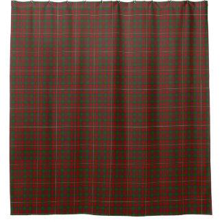 一族のMacKinnonのスコットランドの伝統のタータンチェック シャワーカーテン