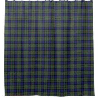一族のMacLarenのスコットランドのタータンチェックのシャワー・カーテン シャワーカーテン