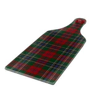 一族のMacLeanのスコットランドのタータンチェック カッティングボード