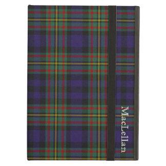 一族のMacLellanの格子縞のカスタムなiPadの空気箱 iPad Airケース