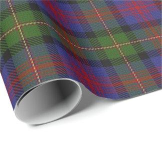 一族のMacLennanのスコットランド人のタータンチェック ラッピングペーパー
