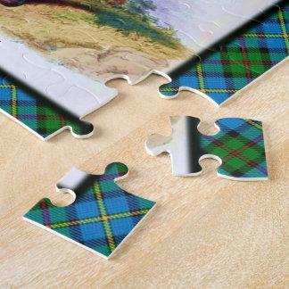 一族のMacLeodのスコットランドの高地の夢 ジグソーパズル