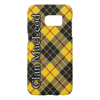 一族のMacLeodのタータンチェック格子縞騒々しいMacLeod Samsung Galaxy S7 ケース