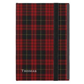 一族のMacQueenのタータンチェック格子縞のiPad Miniケース iPad Mini ケース