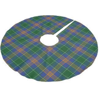 一族のMcAuliffeアイルランドのMacAuliffeのタータンチェック ブラッシュドポリエステルツリースカート