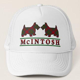 一族のMcIntoshのタータンチェックのスコッチテリア犬 キャップ