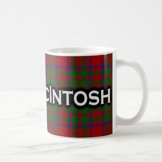 一族のMcIntoshのタータンチェックのスコットランド人 コーヒーマグカップ