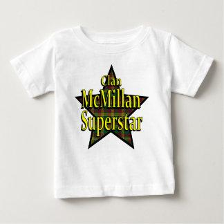 一族のMcMillanのスーパースターの乳児のTシャツ ベビーTシャツ