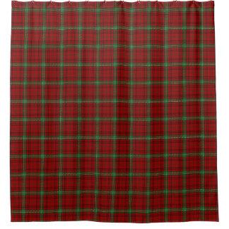 一族のMorrisonのスコットランドの伝統のタータンチェック シャワーカーテン