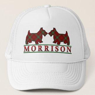 一族のMorrisonのタータンチェックのスコッチテリア犬 キャップ