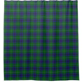 一族のOliphantのスコットランドのタータンチェックのシャワー・カーテン シャワーカーテン