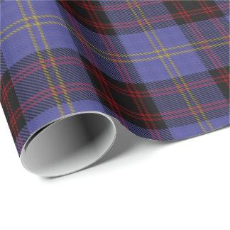 一族のRutherfordのスコットランド人のタータンチェック 包み紙