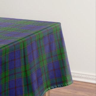 一族のStrachanのスコットランドのタータンチェック テーブルクロス
