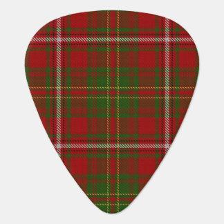 一族はスコットランドのタータンチェックの音を干し草にします ギターピック