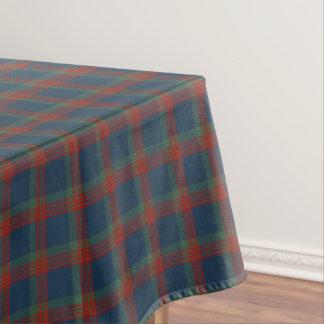 一族ウイルソン青、緑、および赤いスコットランドのタータンチェック テーブルクロス