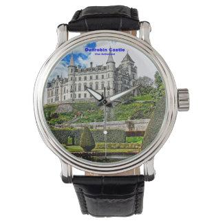 一族サザランドのDunrobinの城の座席 腕時計