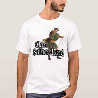 一族サザランド古いスコットランド Tシャツ
