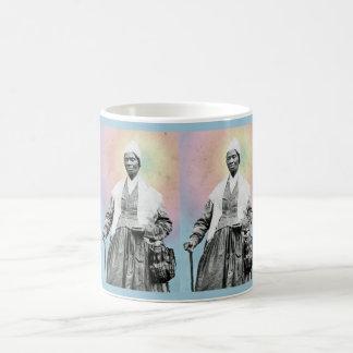 一時滞在者の真実-虹 コーヒーマグカップ