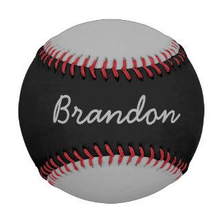 一流のカスタムな灰色および黒い野球を加えて下さい 野球ボール
