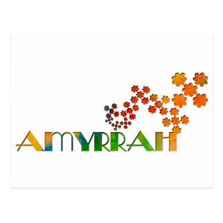 一流のゲーム- Amyrrah ポストカード
