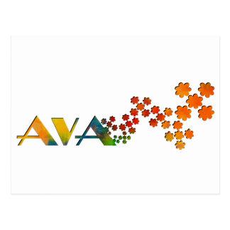 一流のゲーム- Ava ポストカード