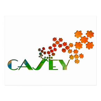 一流のゲーム- Casey ポストカード