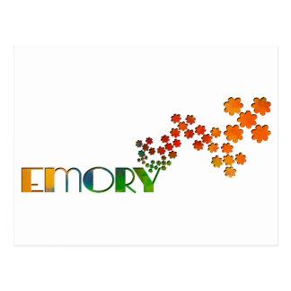 一流のゲーム- Emory ポストカード