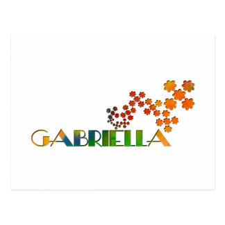 一流のゲーム- Gabriella ポストカード