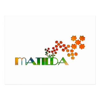 一流のゲーム- Matilda ポストカード