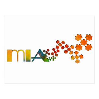一流のゲーム- Mia ポストカード