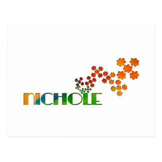 一流のゲーム- Nichole ポストカード