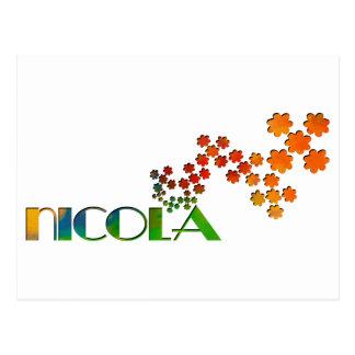 一流のゲーム- Nicola ポストカード