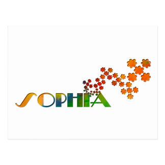 一流のゲーム- Sophia ポストカード